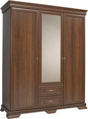 Spinta su veidrodžiu Kora KS2, ruda