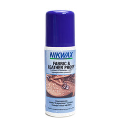 Tepamas impregnantas Nikwax Fabric & Leather Proof, 125 ml kaina ir informacija | Tepamas impregnantas Nikwax Fabric & Leather Proof, 125 ml | pigu.lt