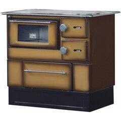 Šildymo krosnelė - viryklė Alfa-Plam Regular 46 DeLux kaina ir informacija | Krosnelės | pigu.lt
