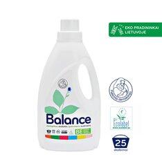 BALANCE ekologiškas skystas skalbiklis spalvotiems audiniams 1,5 L kaina ir informacija | Skalbimo priemonės | pigu.lt