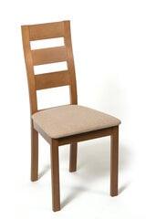 2-jų kėdžių komplektas Parma, rudos/smėlio spalvos