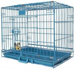 Happy Pet metalinis gyvūno narvas, 91x56x67 cm kaina ir informacija | Transportavimo narvai, krepšiai | pigu.lt