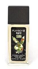 Purškiamas dezodorantas Playboy Play It Wild vyrams 75 ml