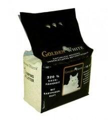 Bentonitinis kačių kraikas Golden White Compact 10 kg