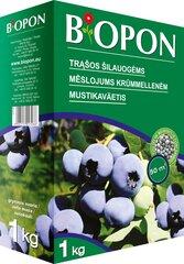 BIOPON trąšų granulės mėlynėms ir šilauogėms, 1 kg kaina ir informacija | BIOPON trąšų granulės mėlynėms ir šilauogėms, 1 kg | pigu.lt