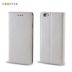 Apsauginis dėklas Forever Smart Magnetic Fix Book skirtas Samsung Galaxy J5 (J500), Sidabrinė kaina ir informacija | Telefono dėklai | pigu.lt