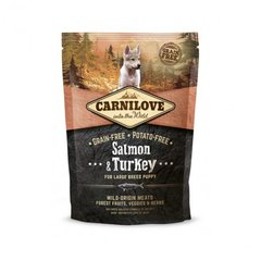 Carni Love Salmon & Turkey Puppy Large Breed 1,5kg kaina ir informacija | Carni Love Salmon & Turkey Puppy Large Breed 1,5kg | pigu.lt