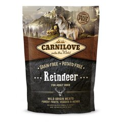 Carni Love Reindeer for Adult 1,5kg kaina ir informacija | Carni Love Reindeer for Adult 1,5kg | pigu.lt
