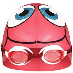 Plaukimo kepuraitės ir akinių rinkinys vaikams Waimea®, rožinis kaina ir informacija | Plaukimo rinkiniai | pigu.lt