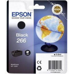 Rašalas Epson Black 266 cartridge | WorkForce WF-100W kaina ir informacija | Rašalas Epson Black 266 cartridge | WorkForce WF-100W | pigu.lt