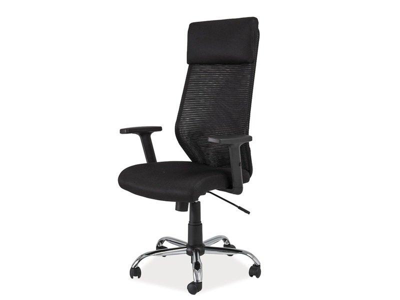 Biuro kėdė Q-211, juoda