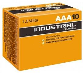 Duracell Industrial AAA elementas, 10 vnt.