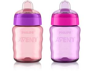 Philips Avent neišsiliejantis puodelis, 260 ml, 12 mėn+, SCF553, 1 vnt. kaina ir informacija | Buteliukai kūdikiams ir jų priedai | pigu.lt