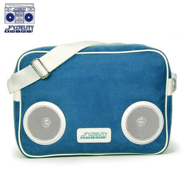 Fydelity Classic G-Force Bag (35х20х10cm) with Speaker Blue