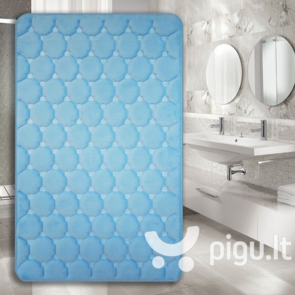 "Memory foam kilimėlis ""Benedomo"" Light blue, 50x80 cm"