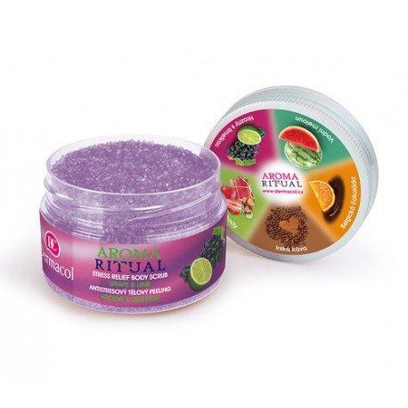 Kūno šveitiklis Dermacol Aroma Ritual Grape&Lime 200 g