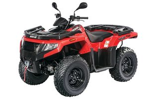 Keturratis motociklas Arctic Cat Alterra 450