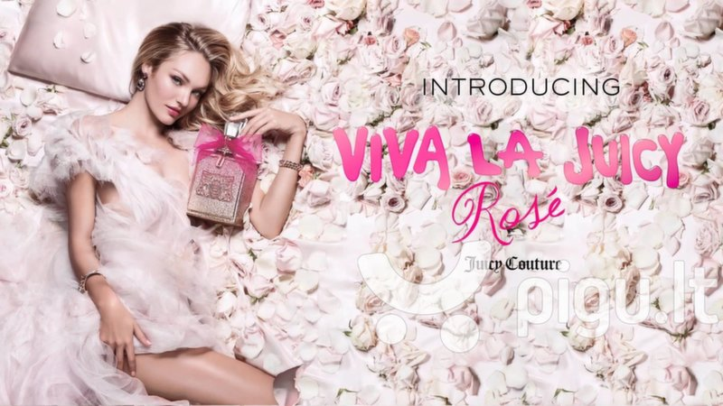 Kvapusis vanduo Juicy Couture Viva La Juicy Rose EDP moterims 100 ml