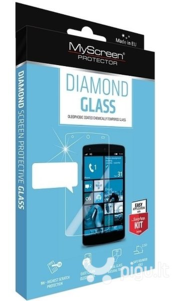 Apsauginis stiklas MyScreen Diamond, skirtas iPhone 6/6S Plus