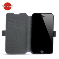 Telone Super Slim Shine Book Case with stand HTC Desire 530 Black