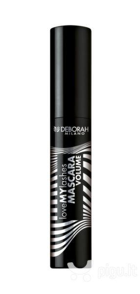 Blakstienų tušas Deborah Love My Lashes Volume 13 ml