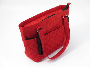 Mamos krepšys Summer Infant Quilted Red