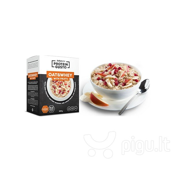 Biotech Protein Gusto - Oat & Whey With Fruits 696 g.