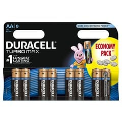Baterijos DURACELL Turbo AA LR06 8vnt.