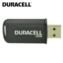 Duracell DRUSB32PE 32GB High Performance Hi-Spped USB 2.0 Flash Disk Drive Black