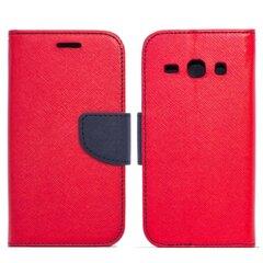 Apsauginis dėklas Telone Fancy Diary Bookstand skirtas Huawei Honor 5C/7 Lite, Raudona/Mėlyna kaina ir informacija | Telefono dėklai | pigu.lt