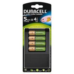 Įkroviklis Duracell CEF15 (per 5 min) +4AA