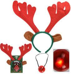 """Kalėdinis lankelis ir mirksinti nosis - """"Elniukas"""""""