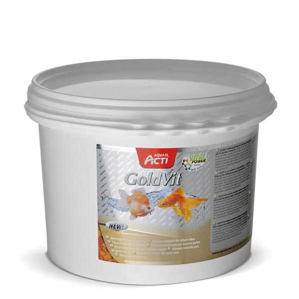 "Aquael Acti ""GoldVit"", auksinių žuvyčių pašaras, 11 l (kibiras)"