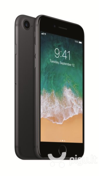 Apple iPhone 7 32GB, Black kaina