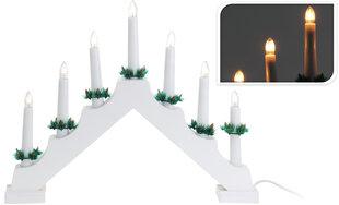 Kalėdinė žvakidė su lemputėmis