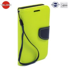 Telone Fancy Diary Bookstand Case LG K8 K350N Light Green/Blue kaina ir informacija   Telefono dėklai   pigu.lt