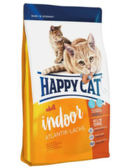 Happy Cat Indoor pašaras su lašiša, 1,4 kg