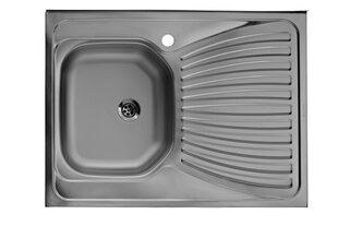 Virtuvės plautuvė Artenova E60X80 uždedama 0,40mm