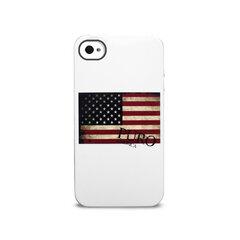 Apsauginis dėklas Puro IPC4USA3 IPHONE 4/4S USA, skirtas iPhone 4/4S kaina ir informacija | Telefono dėklai | pigu.lt
