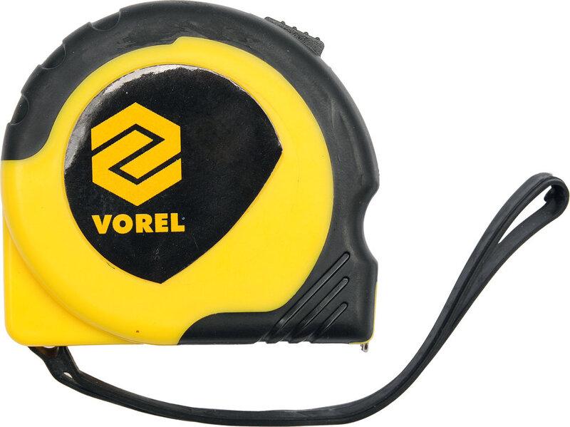 Ruletė geltona Vorel 10m