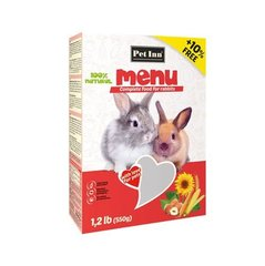 Pet Inn Menu maistas triušiams 500g + 50g