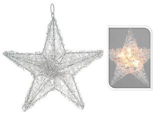 Kalėdinė dekoracija Žvaigždė kaina ir informacija | Kalėdinės dekoracijos, eglutės žaisliukai | pigu.lt