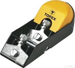 Oblius su 2 peiliais 50mm Topex kaina ir informacija | Mechaniniai įrankiai | pigu.lt