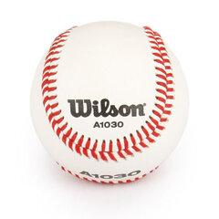 Beisbolo kamuoliukas iš natūralios odos Wilson kaina ir informacija | Beisbolas | pigu.lt