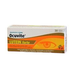 Ocuvite Lutein Forte tabletės, N30 kaina ir informacija | Vitaminai ir maisto papildai gerai savijautai | pigu.lt