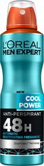 Purškiamas dezodorantas L'Oreal Paris Men Expert Cool Power 150 ml