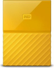 "WD My Passport 2.5"" 4 TB, USB 3.0, Geltona"