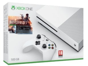 Microsoft Xbox One S 500GB + Battlefield 1