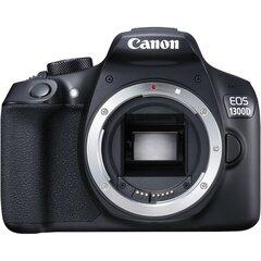 Canon EOS 1300D Body, Juoda