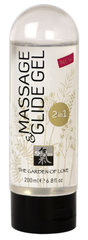 "Masažo aliejus ""Massage and Glide Gel"" Shiatsu 200 ml."